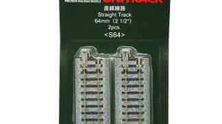 20-040 62mm Straight Track(4 Pcs.) 20-040 62mm Straight Track(4 Pcs.)