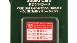 22-202-3 Sound Card GE 3rd Generation Diesel