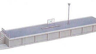 23-102 Island Platform End Type #1