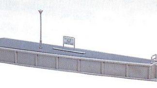 23-104 Island Platform End Type #3